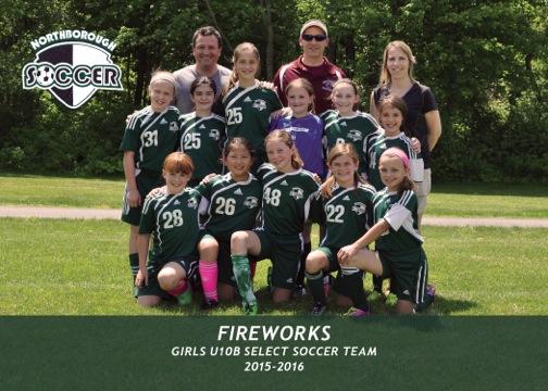 GU10B Select Section Champs ~ Coach Dave Faucher